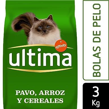 Ultima Pienso para Gatos Esterilizados Control de Bolas de Pelo - 3000 gr: Amazon.es: Alimentación y bebidas