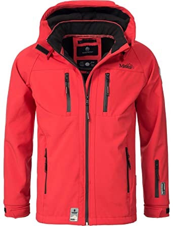 meet bc790 bee15 Marikoo Herren Softshell-Jacke Outdoorjacke NOAA 6 Farben S-4XL