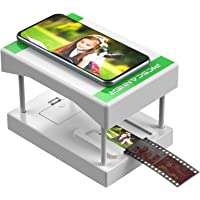 Rybozen Mobile Film and Slide Scanner, FILM to JPEG,Converts 35mm Slides & Negatives into Digital Photos with Your…