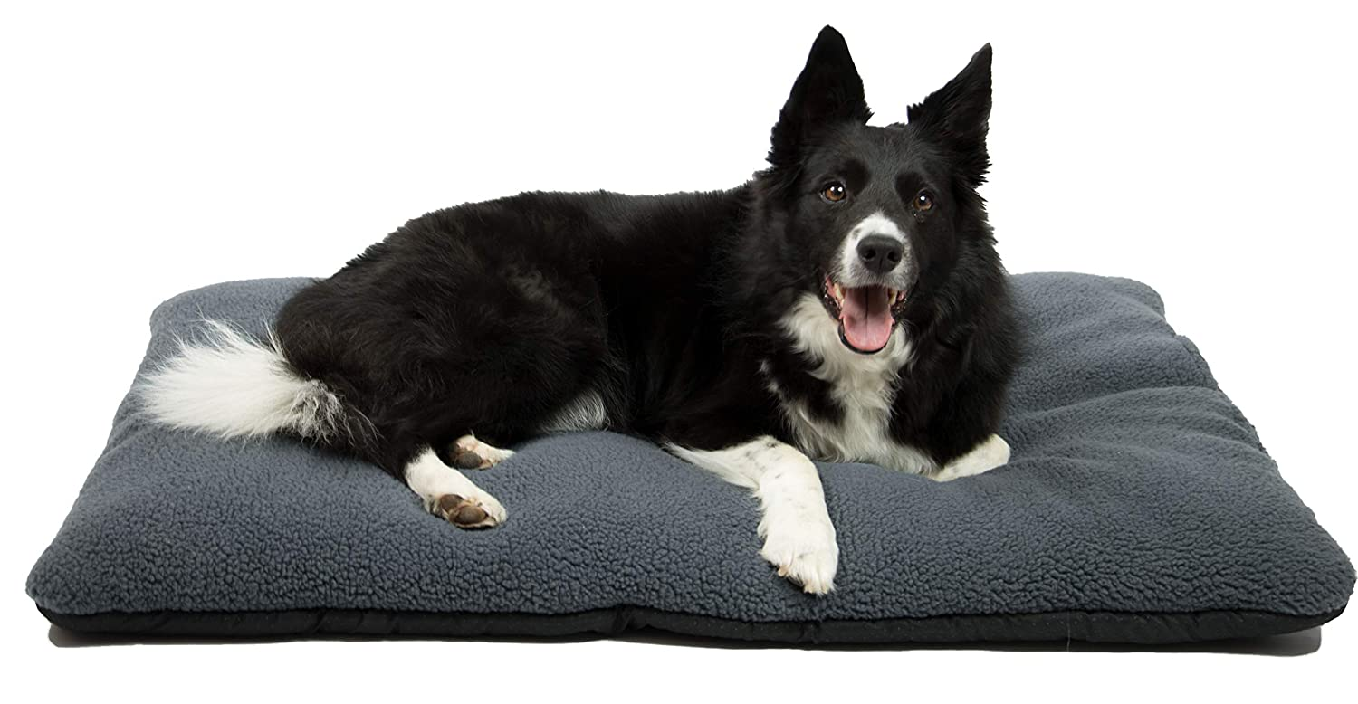 70/x 100/cm Rex ZOLLNER Washable Warm Dog Bed//Dog Cushion Hochisolierend//Rug or Blanket Polyester Hollow Fibre Filling and Anti-Slip Studs