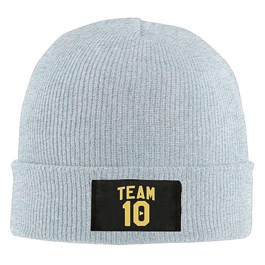 Amazon.com  GoldsongTshirt Team 10 Unisex Woolen Hat Winter Knit ... f0676409b76