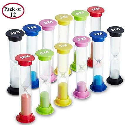 amazon com sand timer emdmak 6 colors hourglass sandglass sand