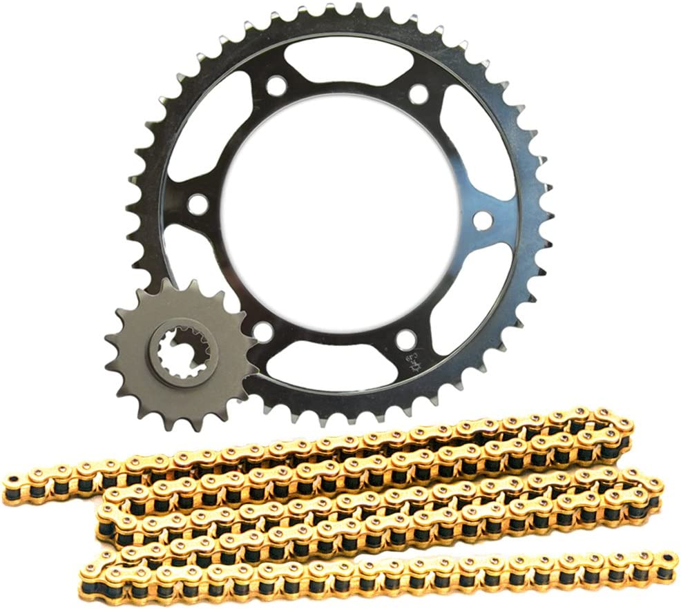 JT Sprockets (JTSK2007) 525Z1R Gold Chain and 17 Front/39 Rear Tooth Sprocket Kit