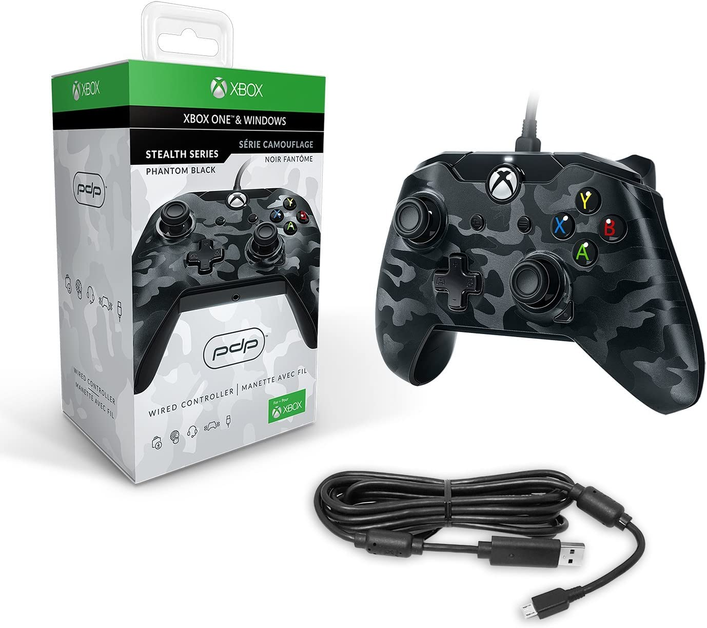 Pdp - Mando Licenciado Nueva, Color Camuflaje Negro (Xbox One ...