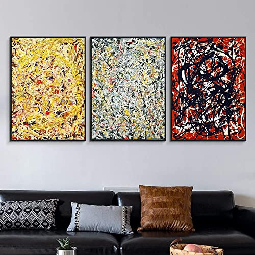 INVIN ART Framed Canvas Giclee Print Art Combo Painting 3 Piece
