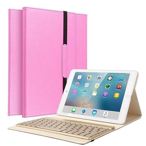 amazon com ipad air keyboard cover, kvago stylish protective case