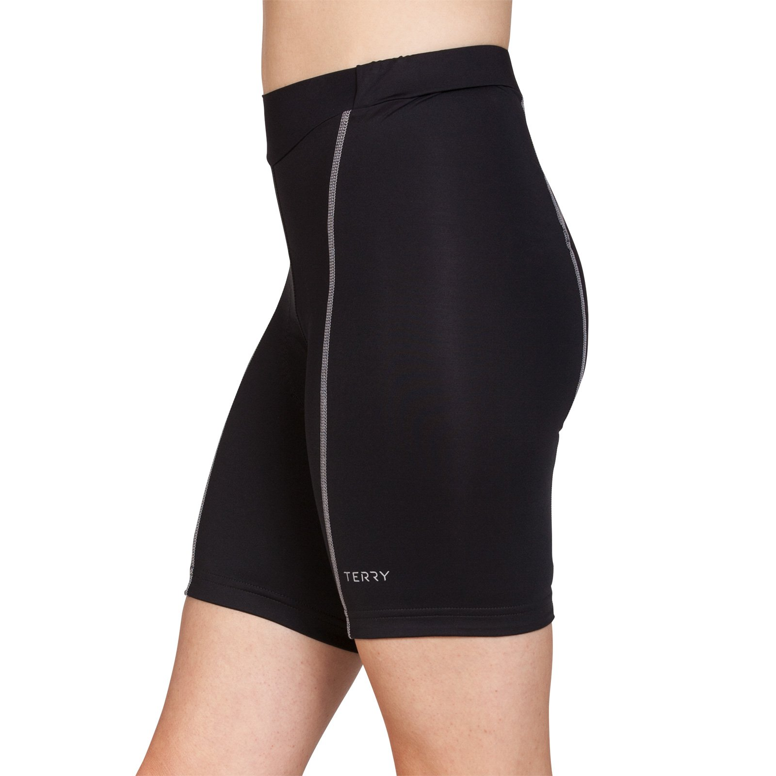 Terry Women's Bella Short - Black/Gray - Medium by Terry (Image #3)