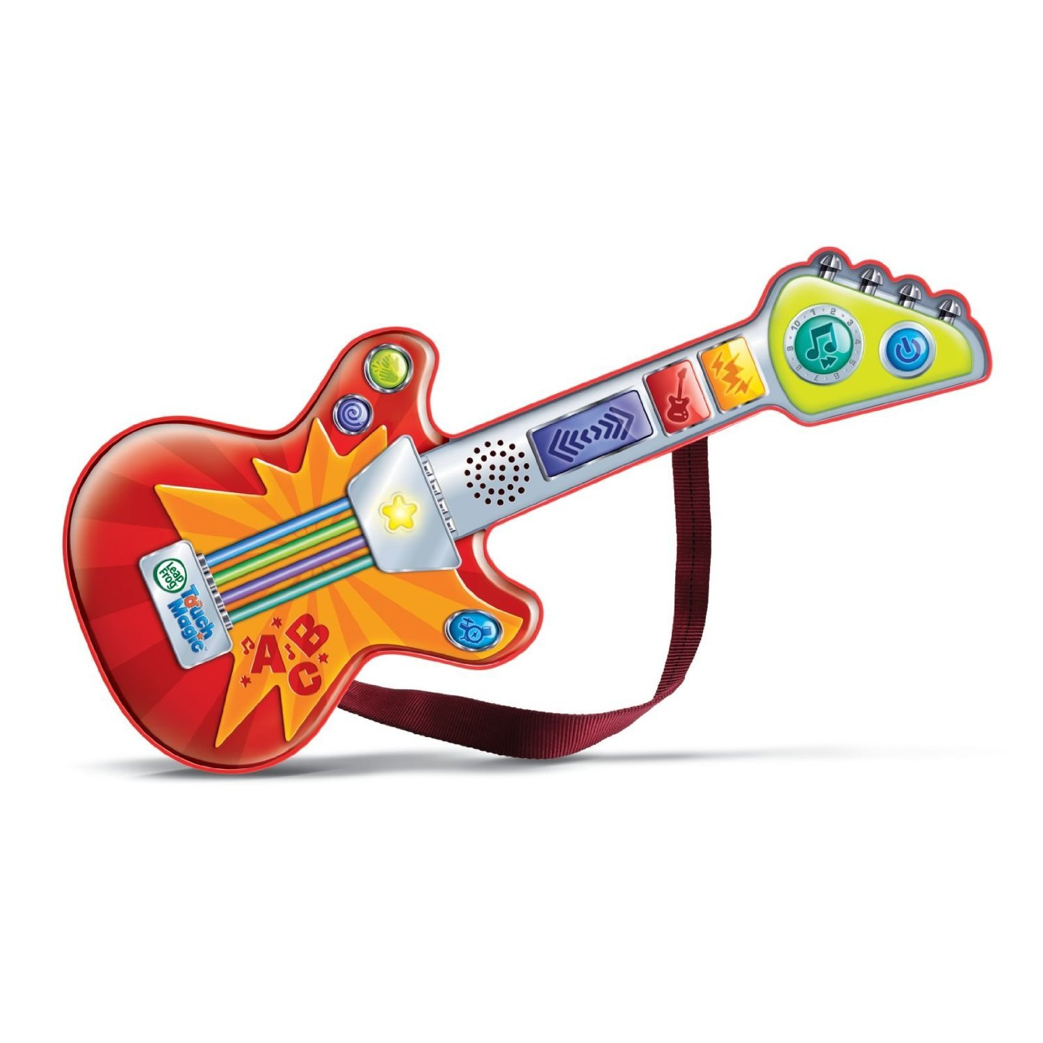 Amazon LeapFrog Touch Magic Rockin Guitar Toys & Games