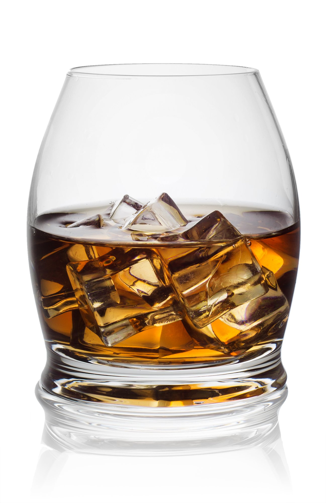 American Whiskey and Bourbon Glasses (10-Ounce, Set of 2)