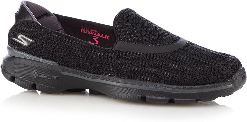 motor suspender Min  Skechers - 'Go Walk 3' Slip On Shoes with Goga Mat Technology - Black - 3:  Amazon.co.uk: Shoes & Bags