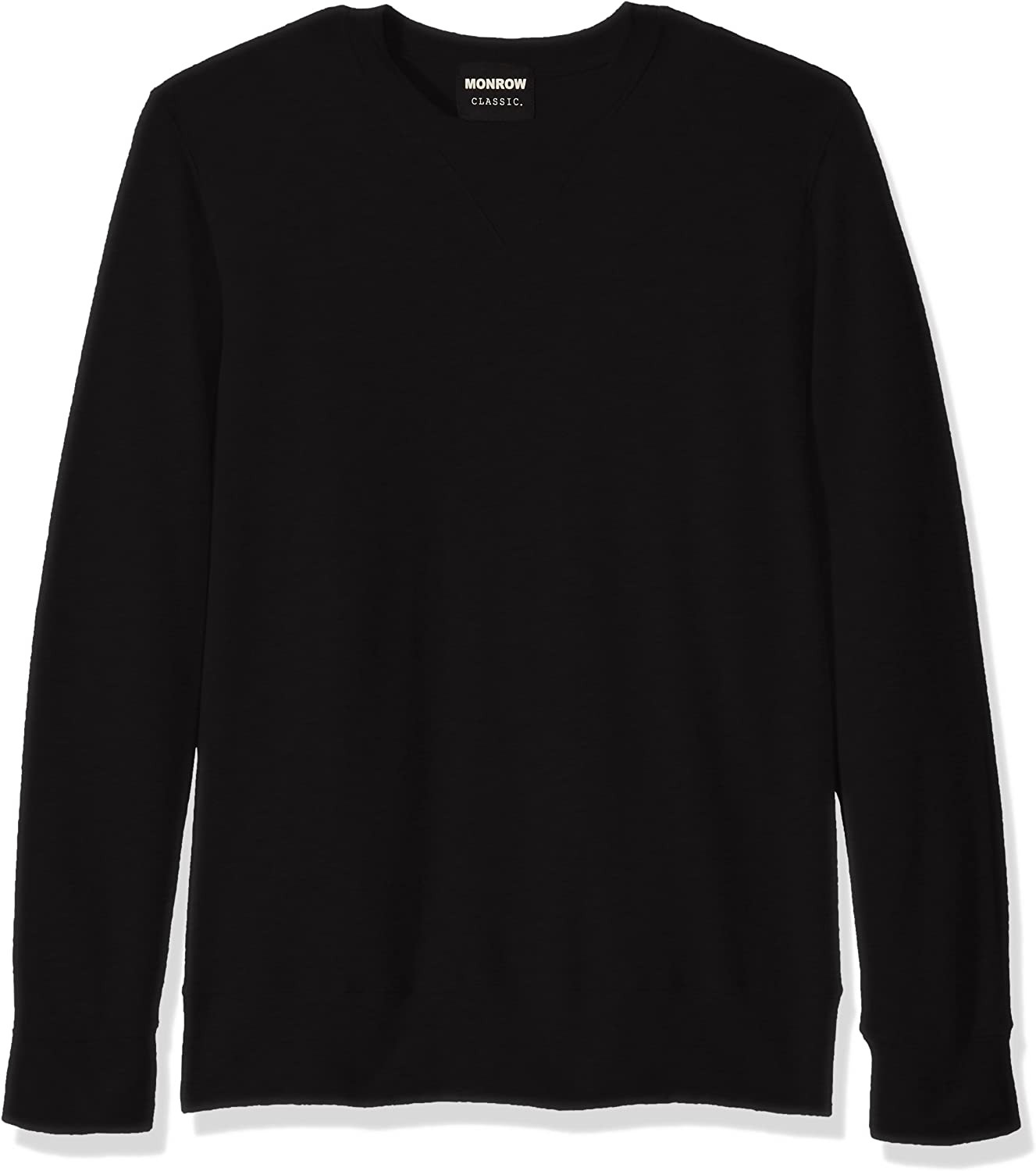 Monrow Outlet ☆ Free Shipping Men's Supersoft Neck Max 70% OFF Sweatshirt Crew