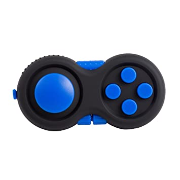 Black and blue Stress Cube Toy for Children and Adults to Relieve