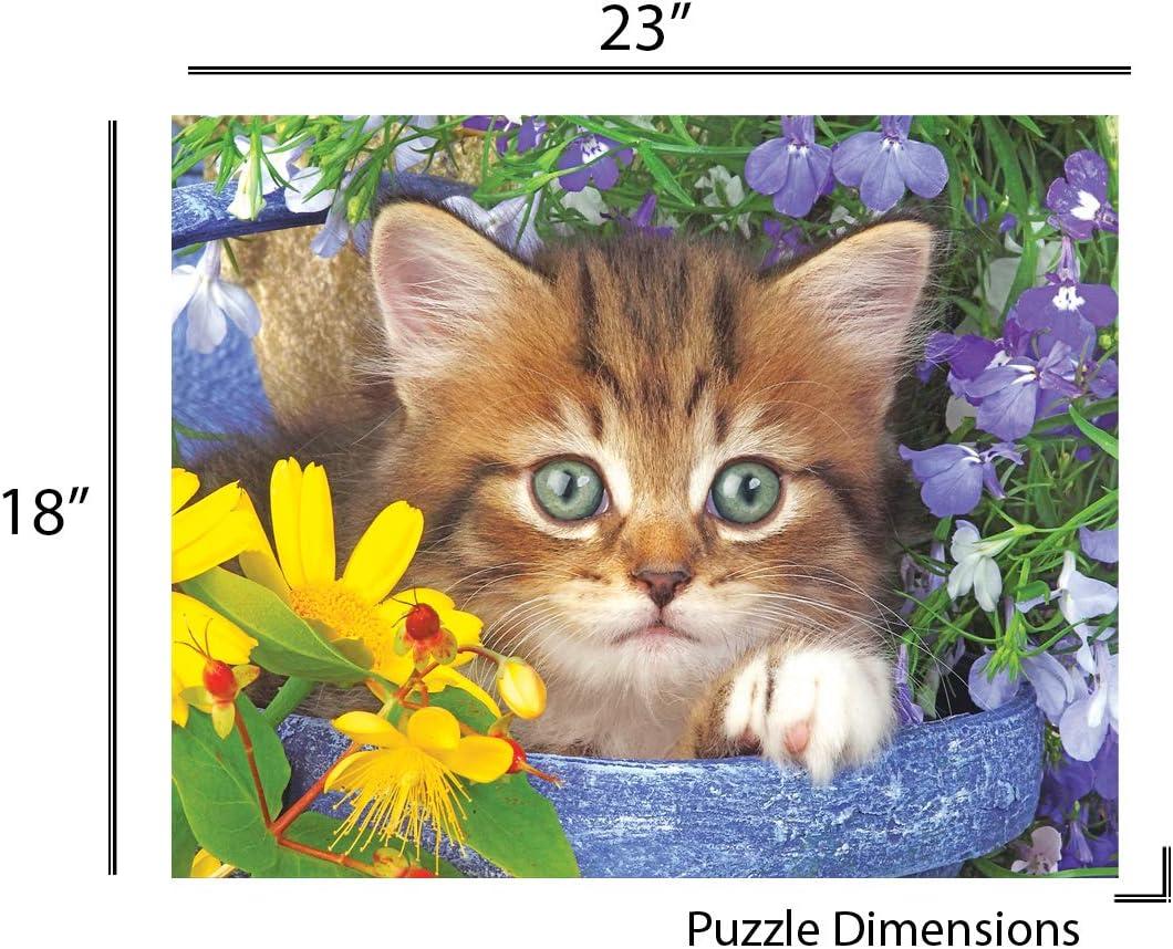 Springbok jardín Helper Jigsaw Puzzle (36 Unidades): Amazon.es: Juguetes y juegos