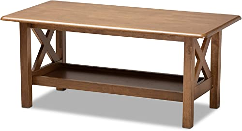 Baxton Studio Coffee Tables, Brown