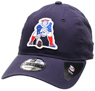 11a25757fe7c06 New Era NFL Patch 9FORTY Cap - New England Patriots: Amazon.co.uk: Sports &  Outdoors