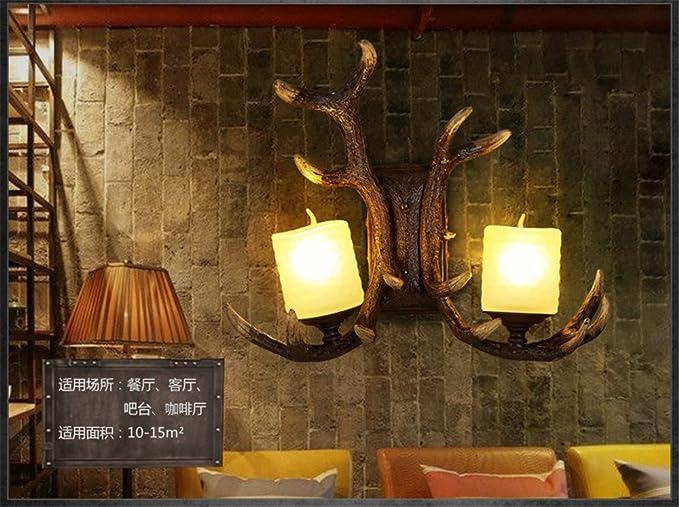 Yu k edison antico stile industriale lampade da parete retrò aria