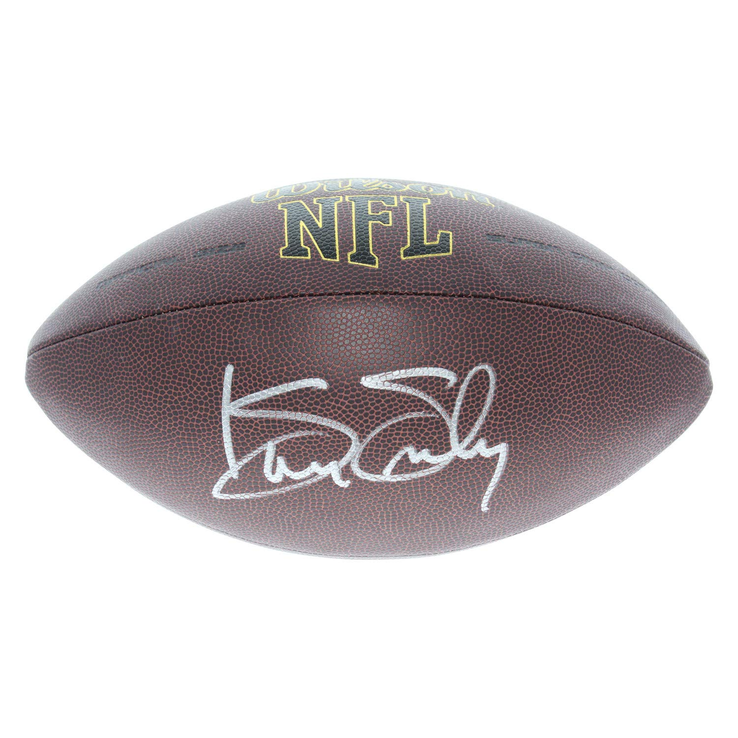 Kenny Easley Seattle Seahawks Autographed Signed Wilson NFL Super Grip Football - PSA/DNA Certified Authentic