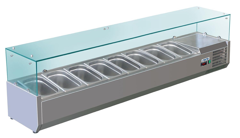 Saro 323-1040 Aufsatzkühlvitrinen, METTE, VRX 1800