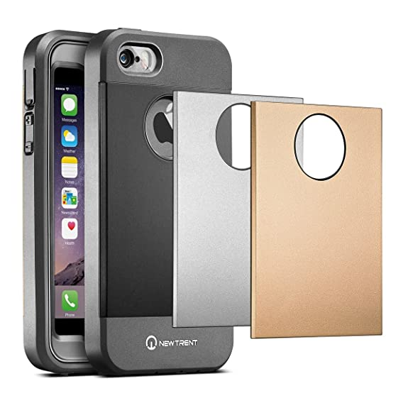 IPhone SE Case, IPhone 5s Case, New Trent Trentium Rugged Protective Durable  IPhone 5