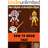 How to draw Five nights at Freddy's Night Characters