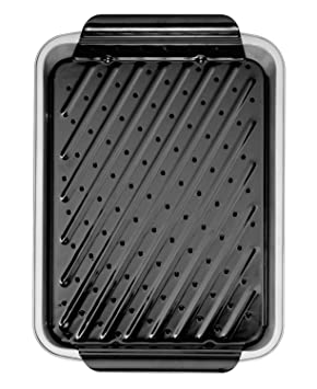 Amazon.com: Wilton Recipe Right Large Broiler Grid Pan ...
