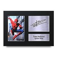 TOM Holland Unterzeichnet A4Gedruckt Autogramm, Spider-Man The Avengers Print Foto Bild Display–tolle Geschenkidee