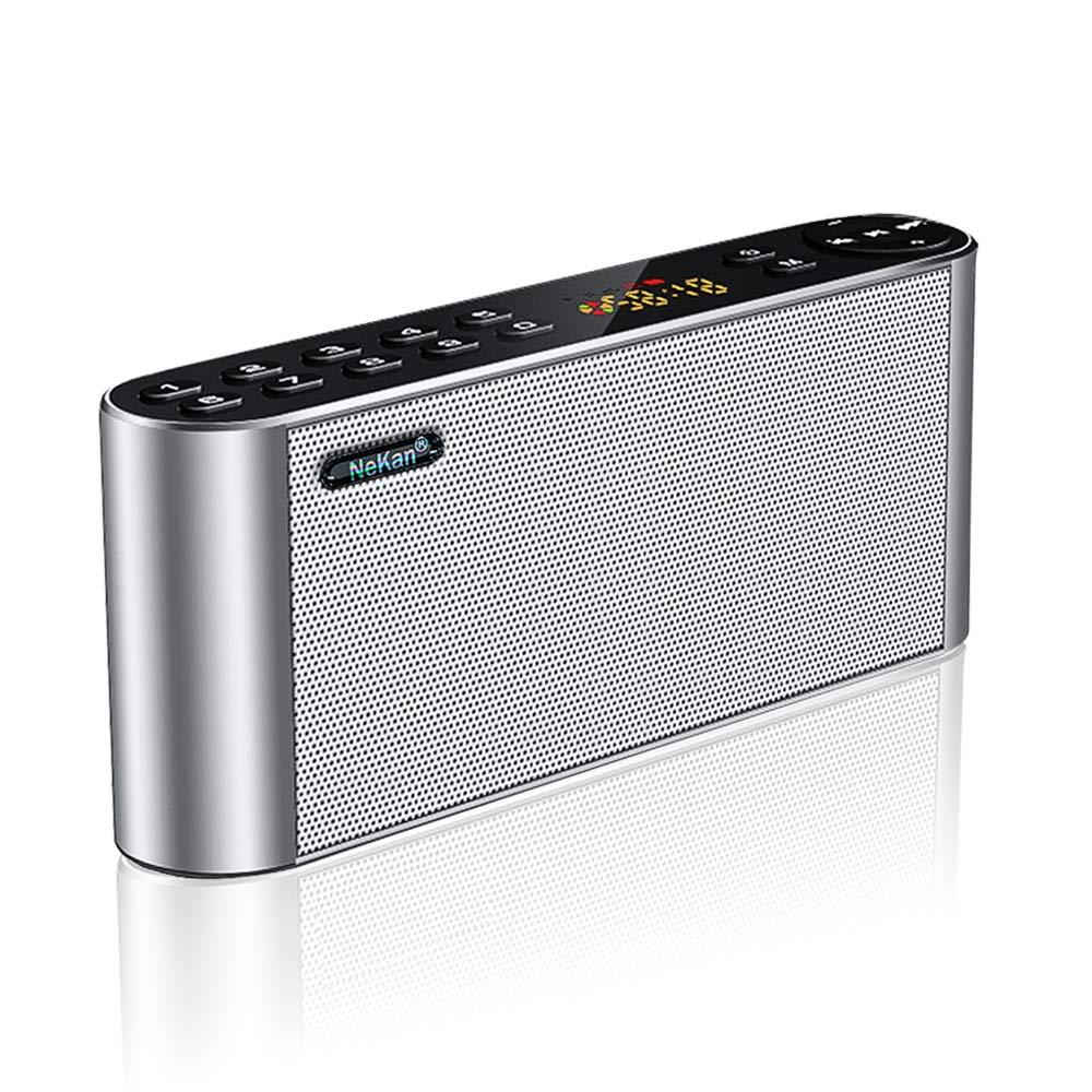 Bluetooth Lautsprecher FM Radio, Tragbarer MP3 Player, NeKan Wireless Speaker mit HD Audio und Enhanced Bass/Dual Driver product image