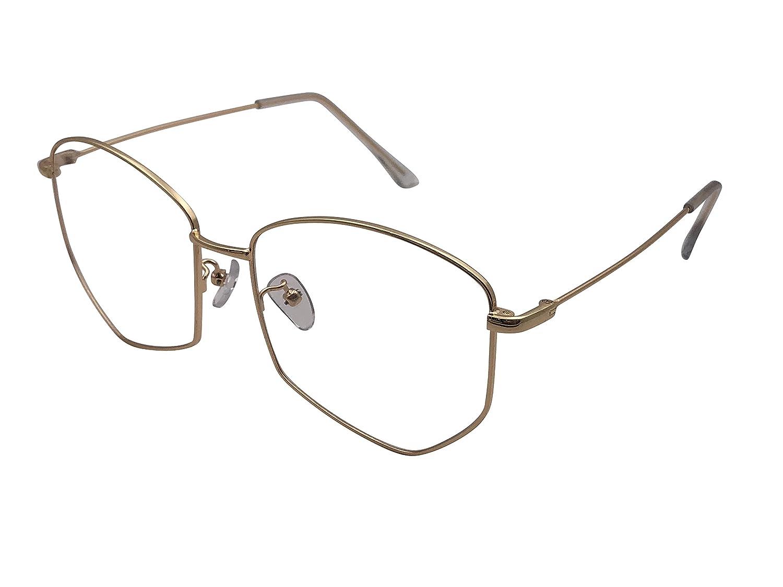 XYAS Unisex Korean Style Retro Pentagon individually Reading Daily Glasses Frames