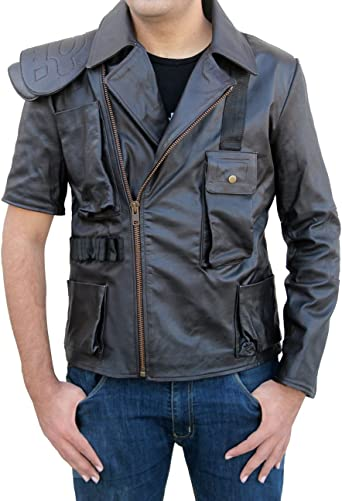 Ayesha Mens Leather Jackets Motorcycle Bomber Biker Genuine Lambskin 100