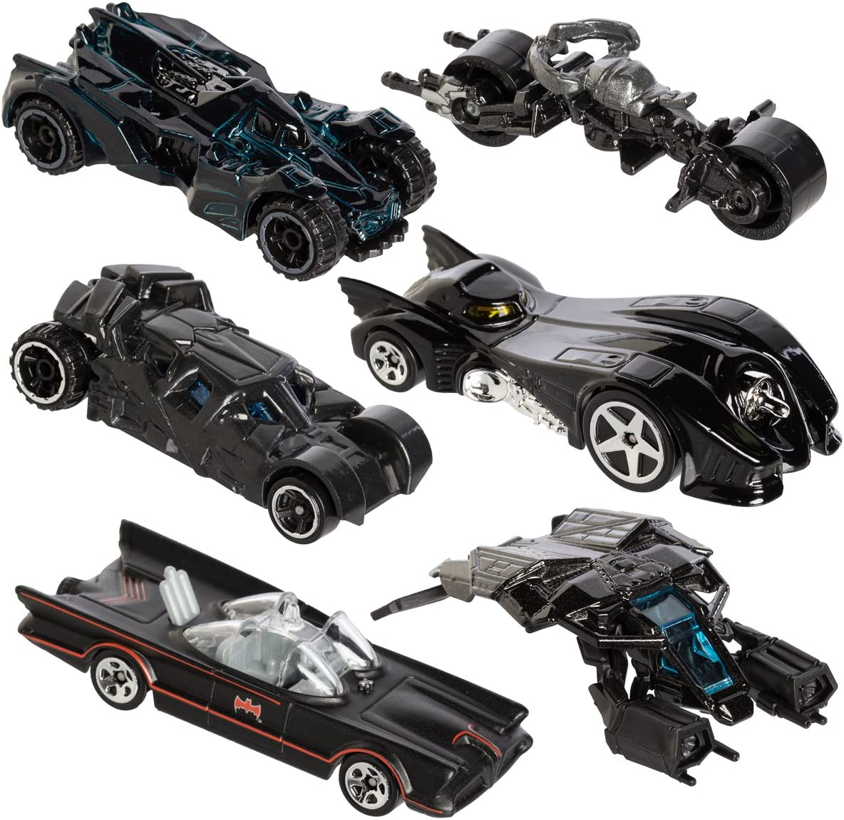 MATTEL Hot Wheels DFK69 – DC Batman 1: 64 Limited Basic Car ...