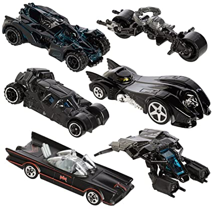 Hot Wheels 2015 Batman Bundle Set Of 6 Exclusive Die Cast Vehicles