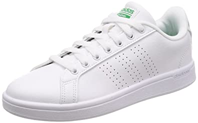 adidas neo cloudfoam advantage mens trainers white