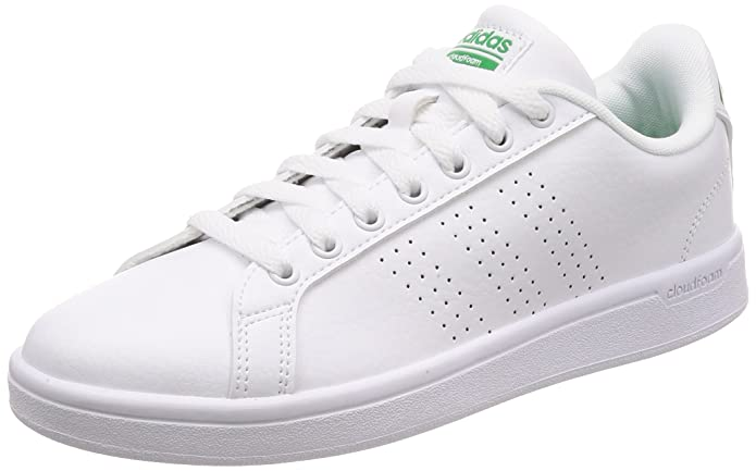 Adidas CF Advantage, Zapatillas para Hombre, Blanco (Footwear White/Core Black/Footwear White 0), 38 EU