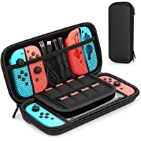 Premify Nintendo Switch Case, Carrying Case with 8 Game Cartridges, Protective Hard Shell Travel Carrying Case Pouch for…