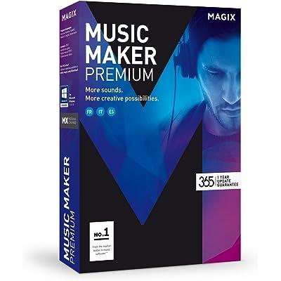 Magix Music Maker Premium - Software De Edición De Audio Para Windows