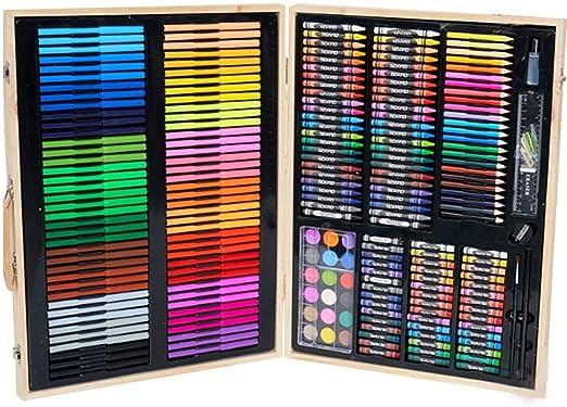 Juego de Arte 251 Piezas: Suministros de Arte para Dibujar, Pintar y más en un Estuche