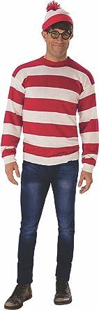Where/'s Waldo DELUXE Adult Costume Set