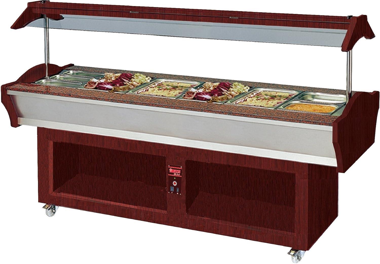 Buffet caliente central AMINA 6 Versión de lógica con maletín ...
