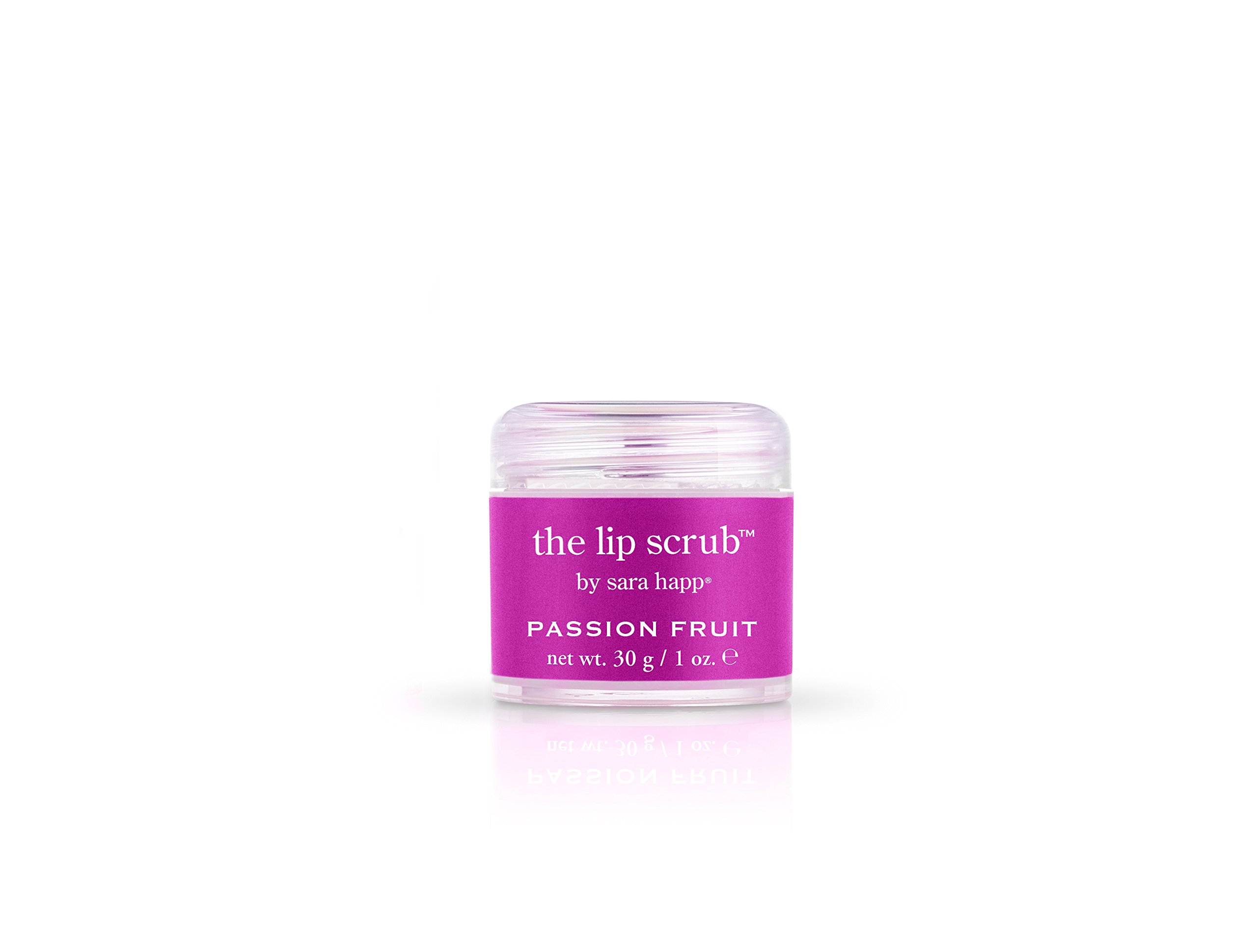 sara happ The Lip Scrub Passion Fruit, 1 Oz