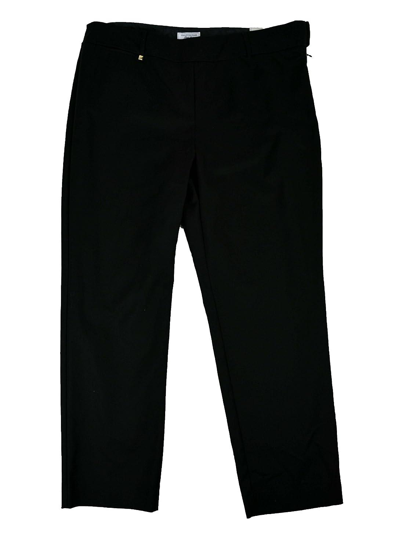 Charter Club Women's Classic Fit Slim leg Pants Deep Black Size 10