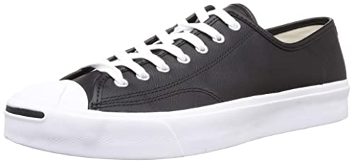 Black White Leather Sneakers-8