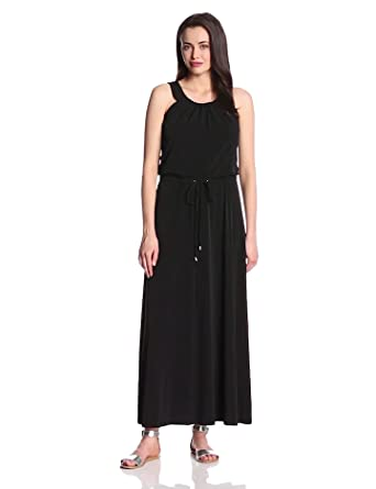 Calvin Klein Women's Maxi Dress, Black, X-Small