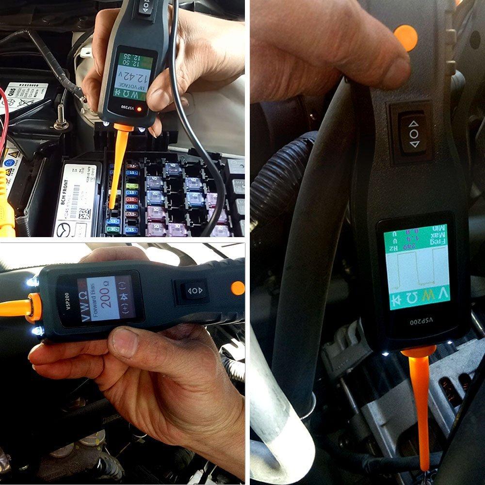 VXDAS VSP200 Circuit Tester Kit Automotive Voltage Tester Power Auto Electrical Circuit Tester Probe by VXDAS (Image #4)