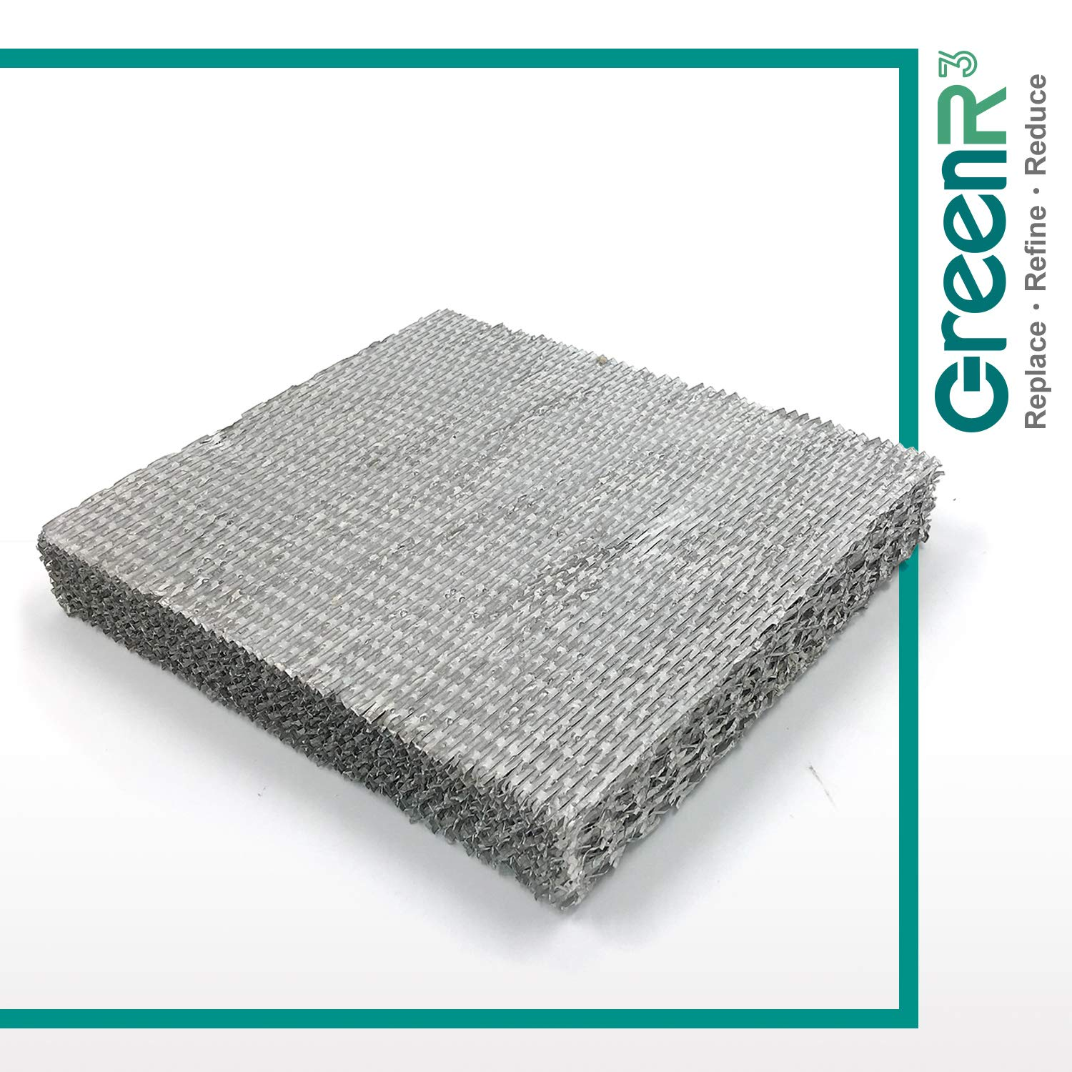 GreenR3 1-PACK AIR FILTER FOR Skuttle Humidifiers A04-1725-052 fits Skuttle 2000 Series White Rodgers HFT2700 HFT2100 Goodman HUM-1725052 HUM-SFTBP Parts Replacement Replenishment and more