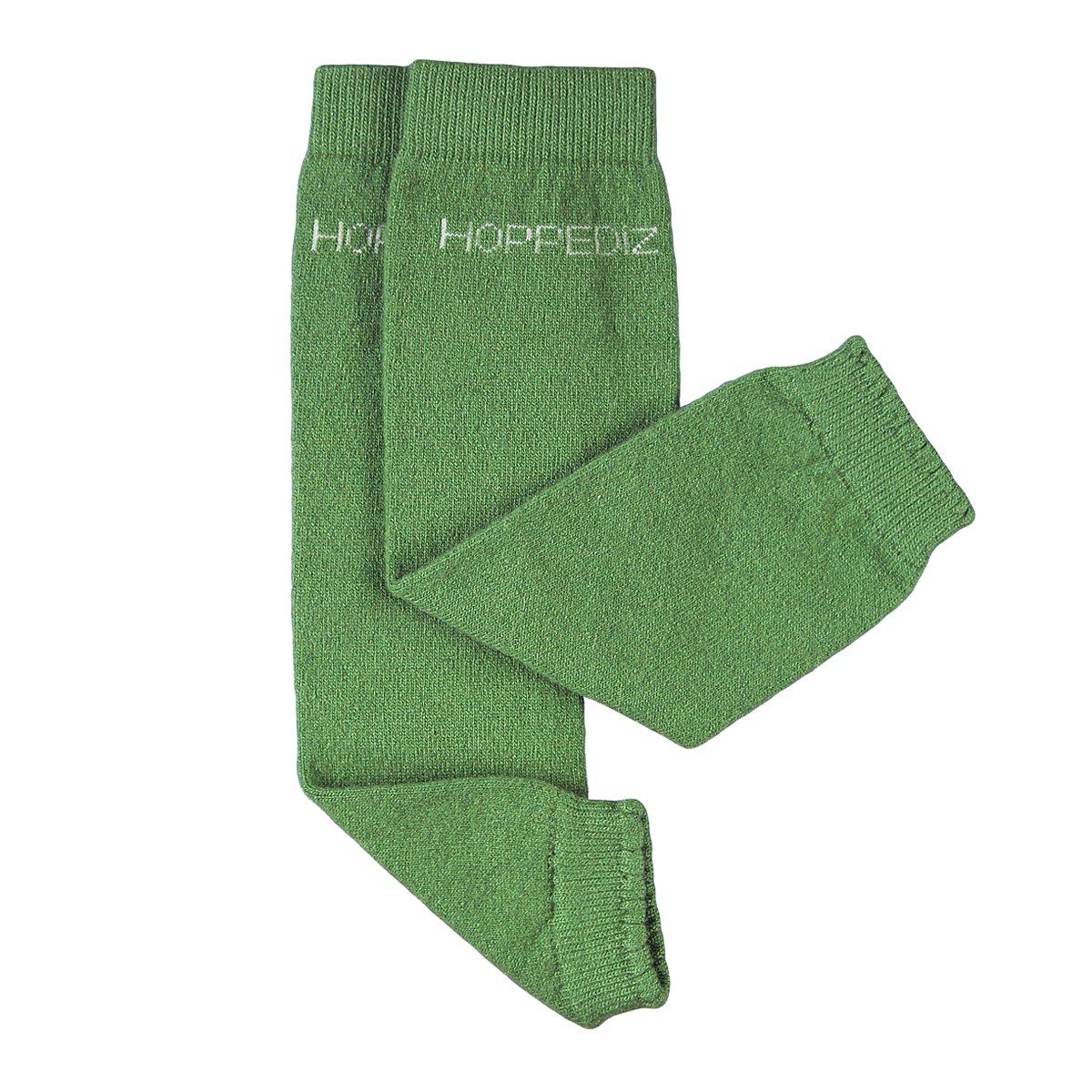 Hoppediz Cashmere//Merino Wool Baby Leg Warmers Norwegian Blue