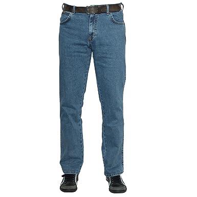 d6246c9c Wrangler Men's Durable Stretch Regular Fit Jeans, Stonewash, W36/L32 ...