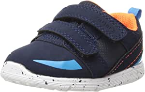Carter's Every Step Baby Relay Girl's and Boy's Athletic Sneaker Navy 4.5 M US Toddler