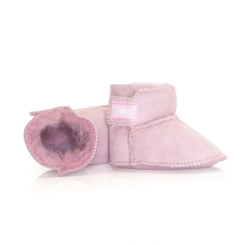 9b69d0e7e8d Ever UGG Australian Sheepskin Baby Erin Bootie Cradle #11501: Amazon ...