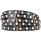 BTF-LIGHTING 5050 RGBW RGB+Warm White (2700K-3000K) 4 Colors in 1 LED 5m 16.4ft 60LEDs/m Multi-Colored LED Tape Lights IP30 N