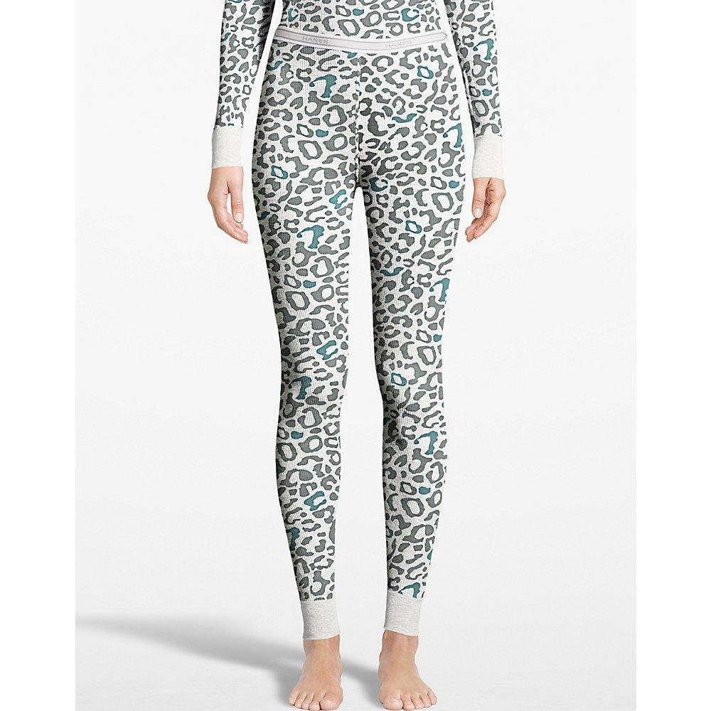 Hanes Womens X-Temp Thermal Printed Pant (25456)
